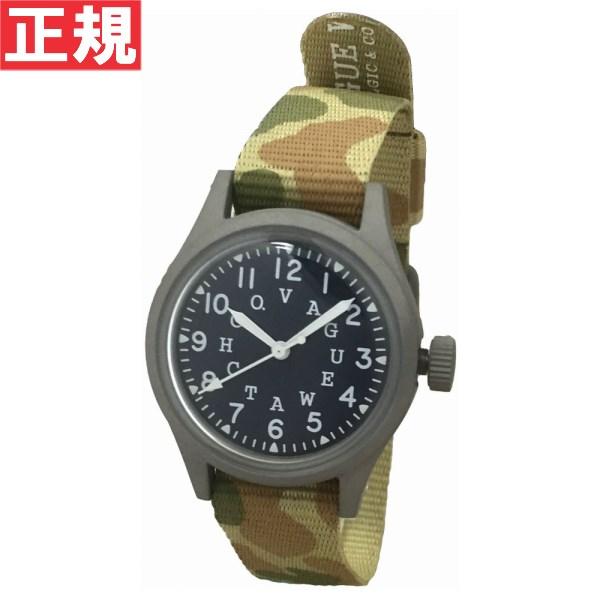 ヴァーグウォッチ VAGUE WATCH Co. 腕時計 メンズ ミリタリー 替えバンド付 GD-L-002