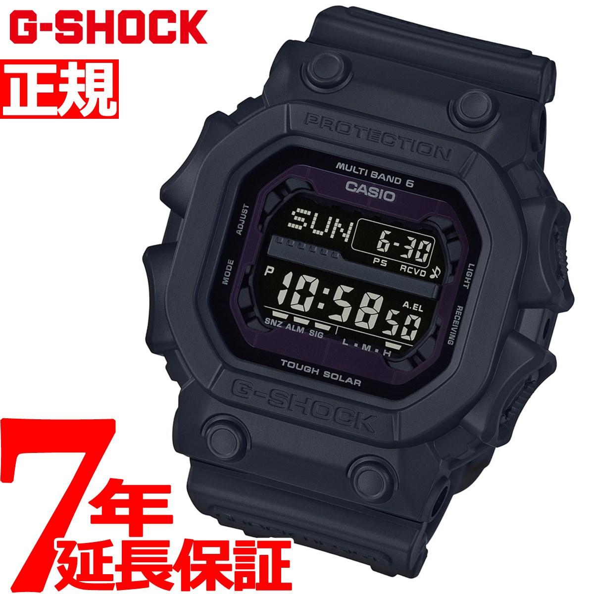 【5日0時~♪2000円OFFクーポン&店内ポイント最大51倍!5日23時59分まで】G-SHOCK 電波 ソーラー 電波時計 ブラック タフソーラー 腕時計 メンズ デジタル GXW-56BB-1JF