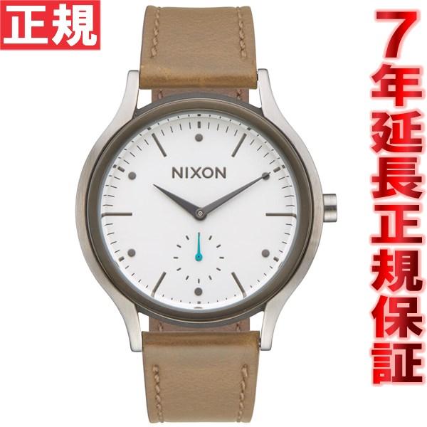 ニクソン NIXON サラレザー SALA LEATHER 腕時計 レディース ホワイト/タン NA9952364-00