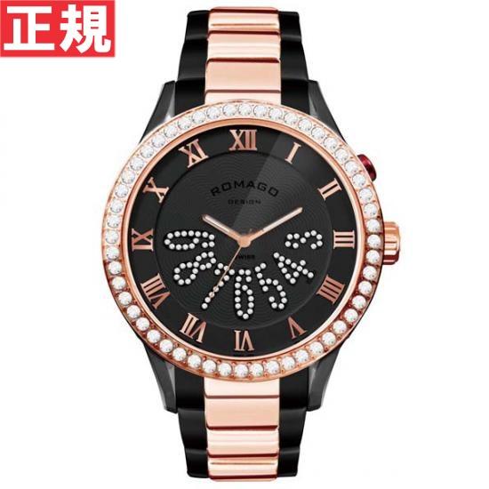 ロマゴ デザイン ROMAGO DESIGN 腕時計 メンズ/レディース LUXURY ラグジュアリー RM019-0214SS-RGBK