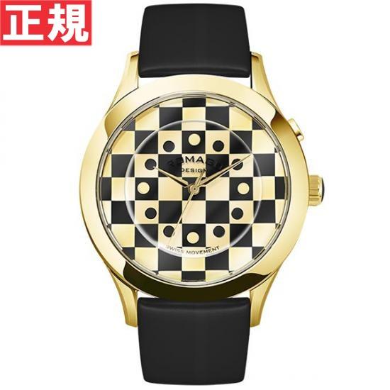 【お買い物マラソンは当店がお得♪本日20より!】ロマゴ デザイン ROMAGO DESIGN 腕時計 メンズ/レディース FASHIONCODE ファッションコード RM052-0314ST-GDBK