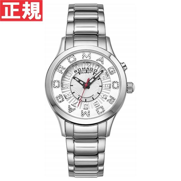 ロマゴ デザイン ROMAGO DESIGN 腕時計 メンズ/レディース ATTRACTION アトラクション RM067-0162SS-SVWH