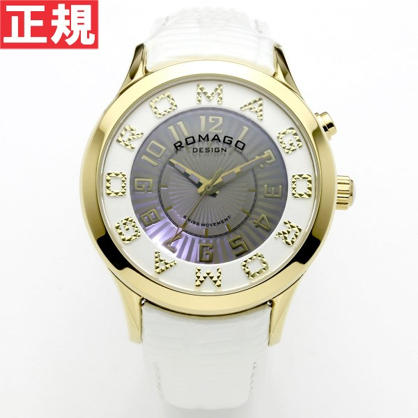 【お買い物マラソンは当店がお得♪本日20より!】ロマゴ デザイン ROMAGO DESIGN 腕時計 メンズ/レディース ATTRACTION アトラクション RM067-0162ST-WH