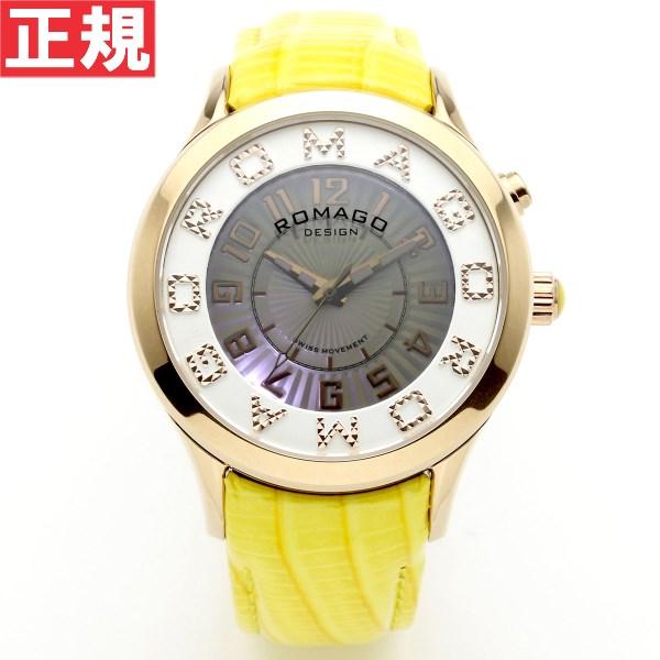 ロマゴ デザイン ROMAGO DESIGN 腕時計 メンズ/レディース ATTRACTION アトラクション RM067-0162ST-YE