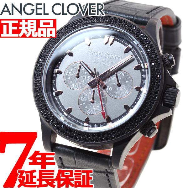 【5日0時~♪10%OFFクーポン&店内ポイント最大51倍!5日23時59分まで】エンジェルクローバー Angel Clover 腕時計 メンズ リュクスマスター LUXE MASTER クロノグラフ LM46GMZ-GR