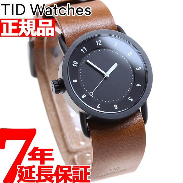 【お買い物マラソンは当店がお得♪本日20より!】ティッドウォッチズ TID Watches 腕時計 メンズ/レディース ティッドウォッチ No.1 コレクション TID01-36BK/T