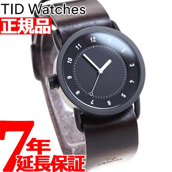 【お買い物マラソンは当店がお得♪本日20より!】ティッドウォッチズ TID Watches 腕時計 メンズ/レディース ティッドウォッチ No.1 コレクション TID01-36BK/W