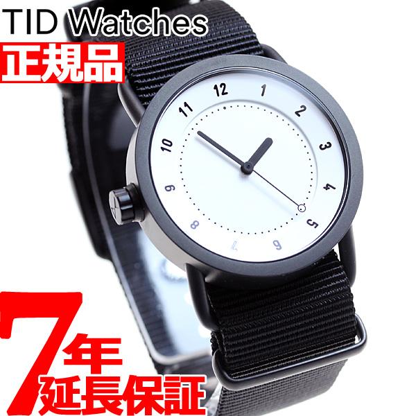 【SHOP OF THE YEAR 2018 受賞】ティッドウォッチズ TID Watches 腕時計 メンズ/レディース ティッドウォッチ No.1 コレクション TID01-36WH/NBK