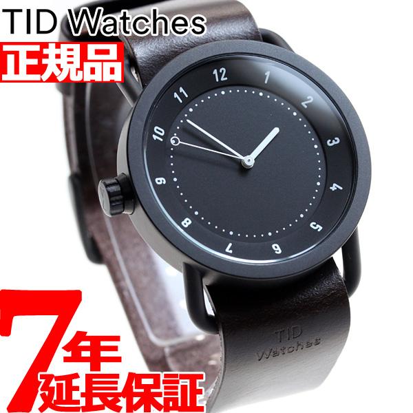 【SHOP OF THE YEAR 2018 受賞】ティッド ウォッチズ TID Watches 腕時計 メンズ/レディース No.1 コレクション TID01-BK/W