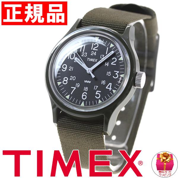 태국 멕시코 TIMEX ヘリテージコレクション 오리지날 캠핑 완전 복 각 모델 Heritage Collection Original Camper 시계 남성용 TW2P88400