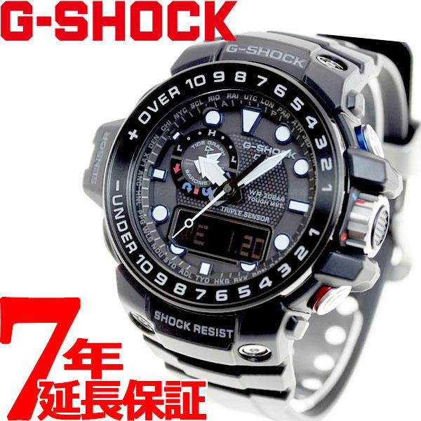 G-SHOCK 電波 ソーラー 電波時計 カシオ Gショック ガルフマスター CASIO GULFMASTER 腕時計 アナデジ タフソーラー GWN-1000B-1AJF