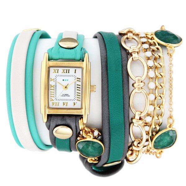 【お買い物マラソンは当店がお得♪本日20より!】ラメール コレクション LA MER COLLECTIONS 腕時計 STONE COLLECTION ストーンコレクション LMMULTI2100
