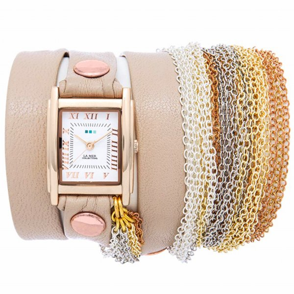 ラメール コレクション LA MER COLLECTIONS 腕時計 DOUBLE CHAIN ダブルチェーン LMMULTICW3001A