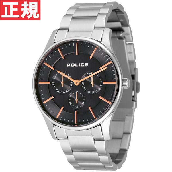 ポリス POLICE 腕時計 メンズ COURTESY コーテシー 14701JS-02M