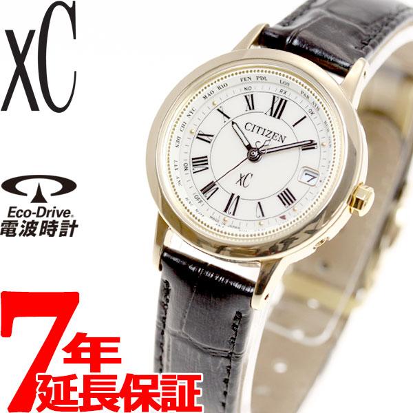 シチズン クロスシー CITIZEN xC エコドライブ 電波時計 腕時計 レディース ティタニア ライン ハッピーフライト EC1142-05B