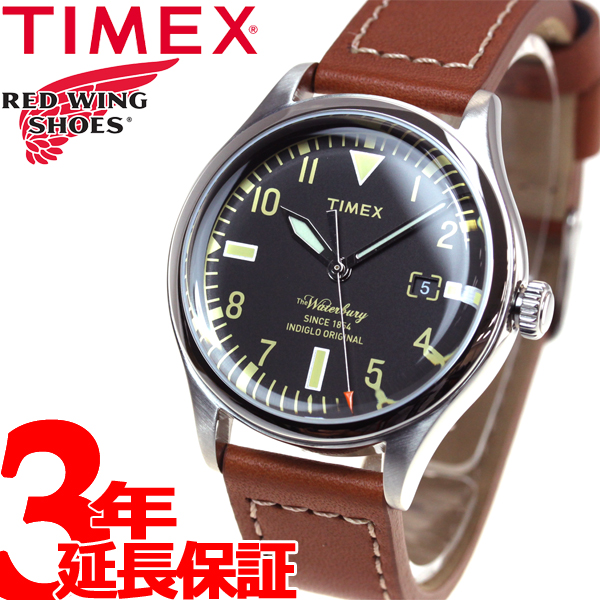 タイメックス TIMEX ウォーターベリー レッドウィング Waterbury Red Wing Shoe Leather 日本先行モデル 腕時計 メンズ TW2P84600
