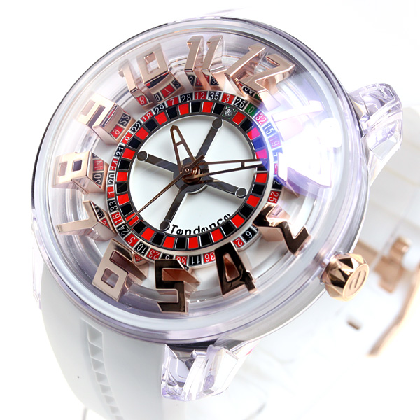 テンデンス Tendence 腕時計 メンズ/レディース キングドーム King Dome TY023003