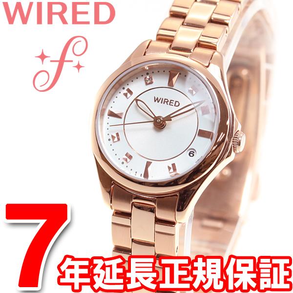 セイコー ワイアード エフ SEIKO WIRED f 腕時計 レディース ペアスタイル PAIR STYLE 3針カレンダーモデル AGEK439