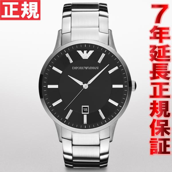 【お買い物マラソンは当店がお得♪本日20より!】エンポリオアルマーニ EMPORIO ARMANI 腕時計 メンズ レナート RENATO AR2457