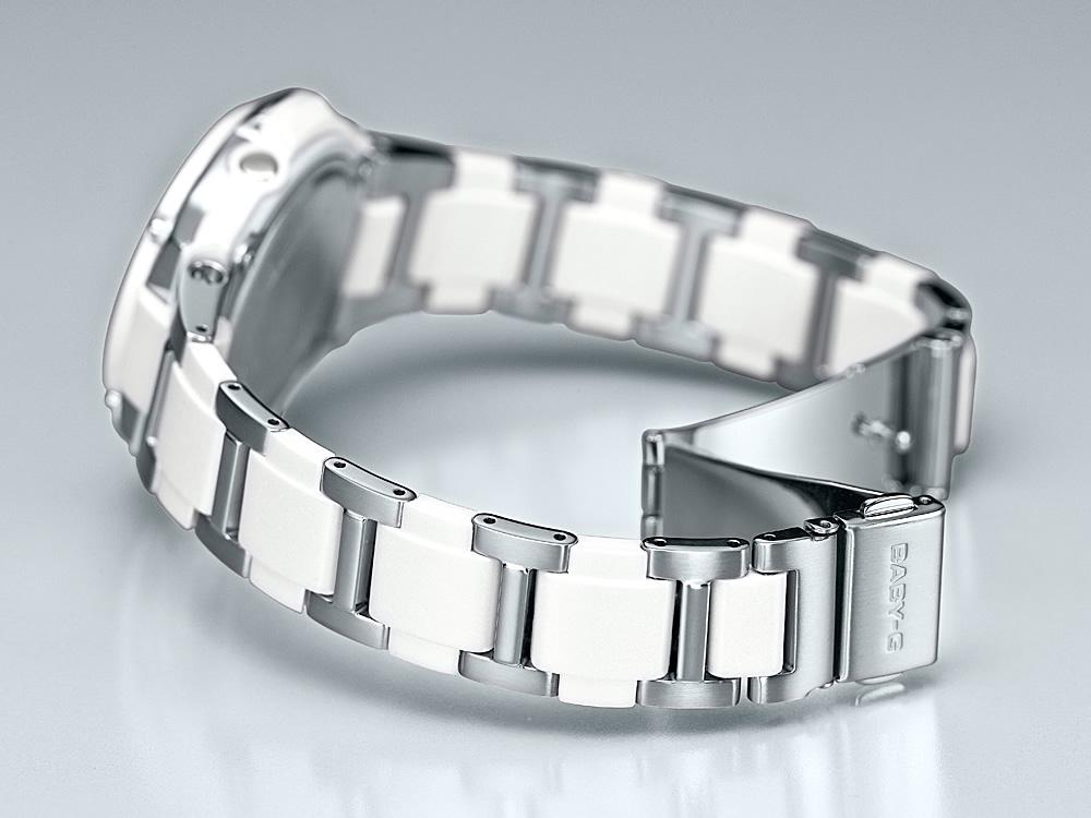 カシオ ベビーG CASIO BABY-G 電波 ソーラー 電波時計 腕時計 レディース 白 ホワイト アナログ タフソーラー BGA-1400CA-7B2JF【正規品】