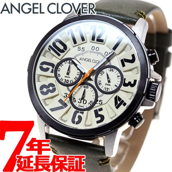 エンジェルクローバー Angel Clover 腕時計 メンズ バンプ Bump クロノグラフ BU44BIV-GR