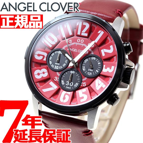 【SHOP OF THE YEAR 2018 受賞】エンジェルクローバー Angel Clover 腕時計 メンズ バンプ Bump クロノグラフ BU44BRE-RE