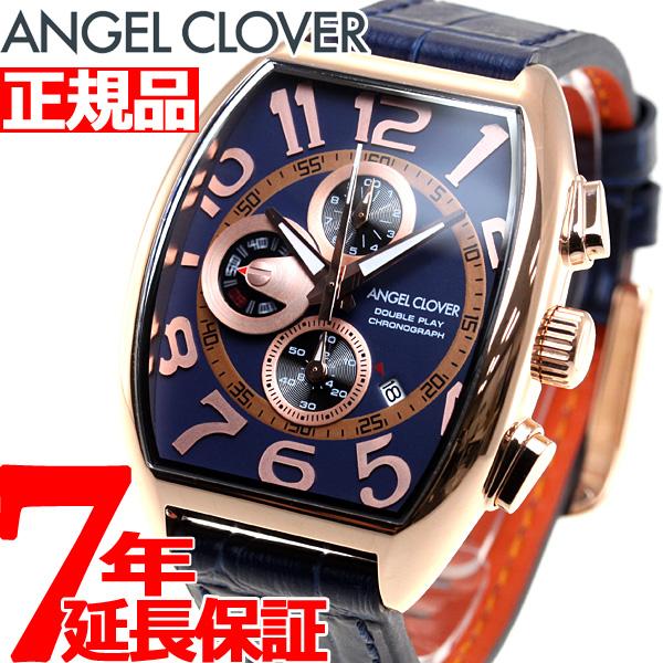 エンジェルクローバー Angel Clover 腕時計 メンズ ダブルプレイ DOUBLE PLAY クロノグラフ DP38PNV-NV