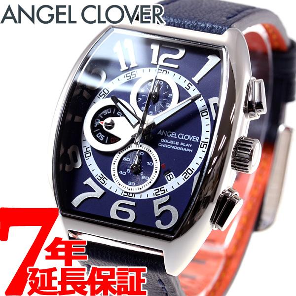 エンジェルクローバー Angel Clover 腕時計 メンズ ダブルプレイ Double Play クロノグラフ DP38SNV-NV