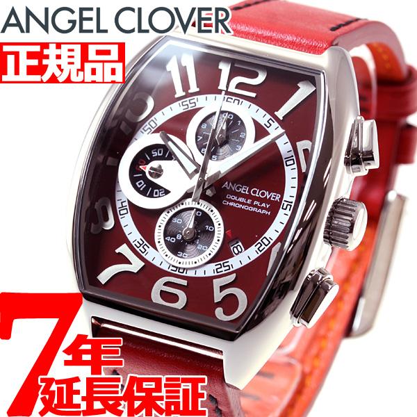 エンジェルクローバー Angel Clover 時計 メンズ 腕時計 ダブルプレイ Double Play クロノグラフ DP38SRE-RE