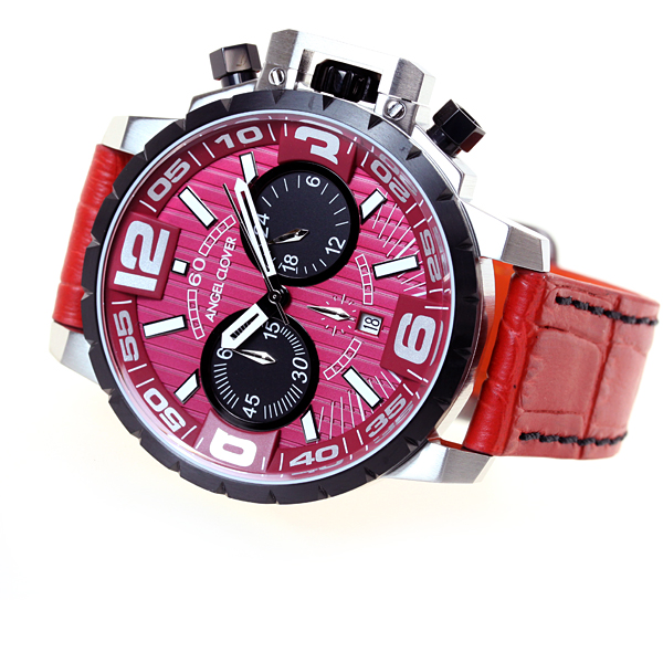 Angel clover Clover Angel watches mens red collection time craft TIME CRAFT chronograph NTC48SRE-RE