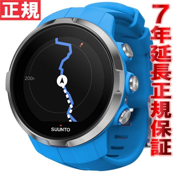 スント スパルタン スポーツ SUUNTO SPARTAN SPORT ブルー 腕時計 GPS スマートウォッチ SS022653000