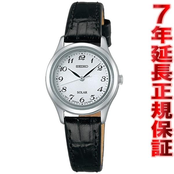 セイコー スピリット SEIKO SPIRIT ソーラー 腕時計 レディース ペアウォッチ STPX037【正規品】