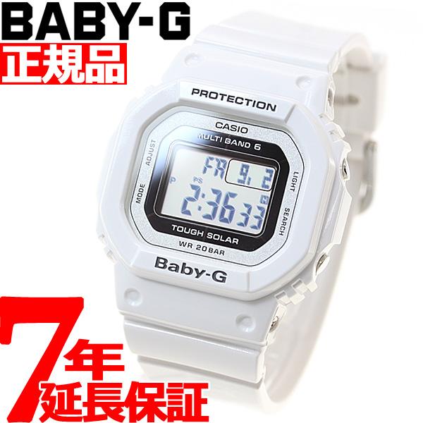 d83fccff2f CASIOBABY-GカシオベビーGTripperトリッパー電波ソーラー電波時計腕時計レディースホワイトデジタルタフ