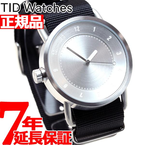 ティッドウォッチズ TID Watches 腕時計 メンズ/レディース ティッドウォッチ No.1 コレクション TID01-SV/NBK