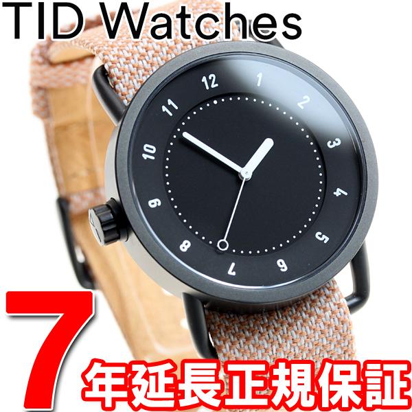 ティッドウォッチズ TID Watches 腕時計 メンズ/レディース ティッドウォッチ No.1 コレクション TID01-TW BLACK/SALMON