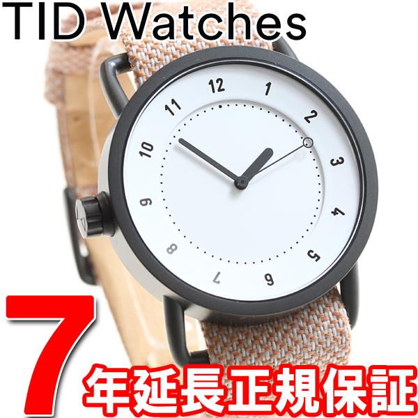 ティッドウォッチズ TID Watches 腕時計 メンズ/レディース ティッドウォッチ No.1 コレクション TID01-TW WH/SALMON