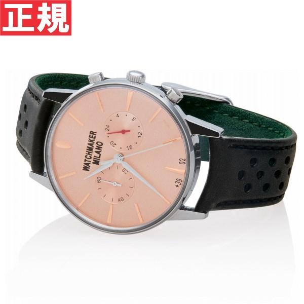 ウォッチメーカー ミラノ Watchmaker Milano 腕時計 メンズ バウーシャ クロノ Bauscia crono WM.0BC.04