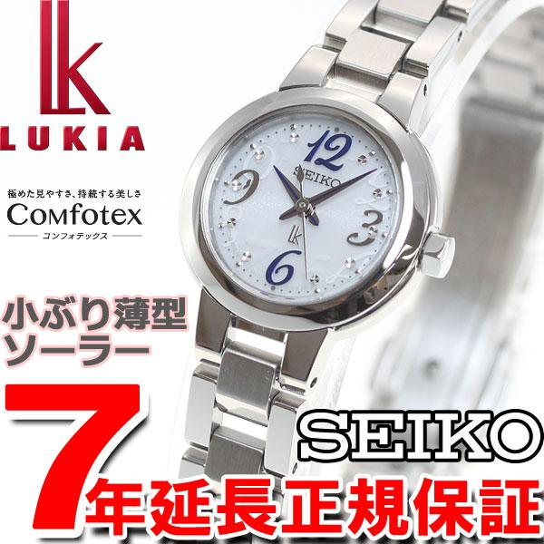 セイコー ルキア SEIKO LUKIA ソーラー 腕時計 レディース 綾瀬はるかイメージキャラクター SSVR125【36回無金利】