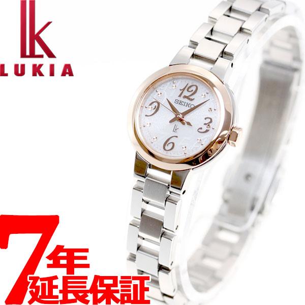 セイコー ルキア SEIKO LUKIA ソーラー 腕時計 レディース 綾瀬はるかイメージキャラクター SSVR126【36回無金利】