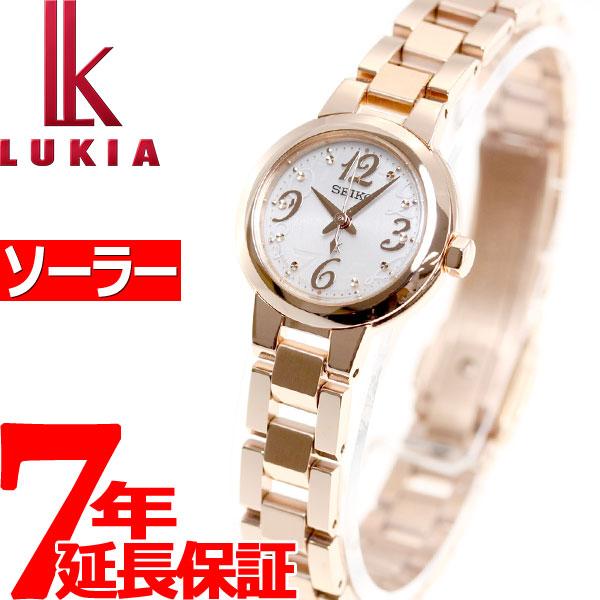セイコー ルキア SEIKO LUKIA ソーラー 腕時計 レディース 綾瀬はるかイメージキャラクター SSVR128【36回無金利】