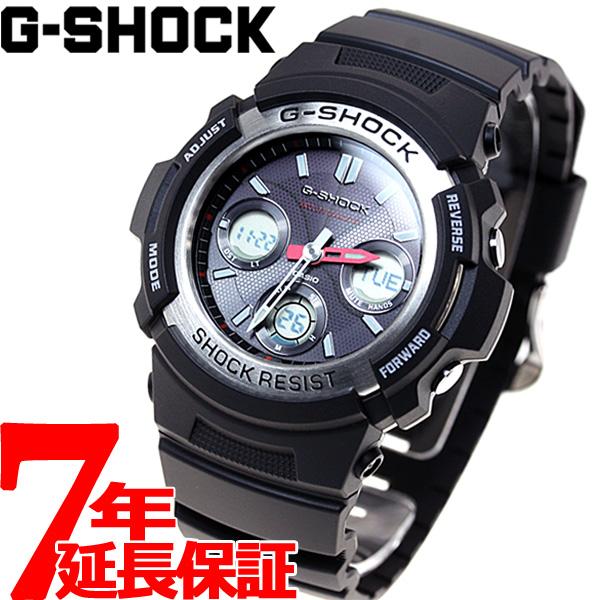 【SHOP OF THE YEAR 2018 受賞】G-SHOCK 電波 ソーラー 電波時計 Gショック カシオ 腕時計 メンズ AWG-M100-1AJF