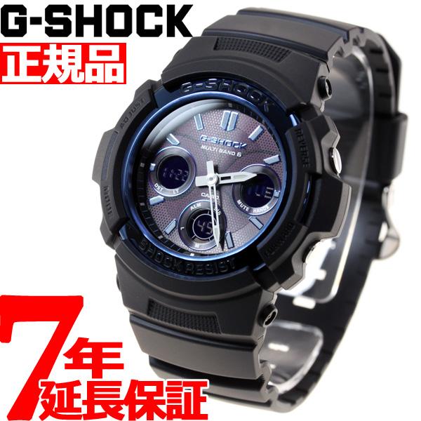 G-SHOCK 電波 ソーラー 電波時計 Gショック カシオ GSHOCK 腕時計 メンズ AWG-M100A-1AJF