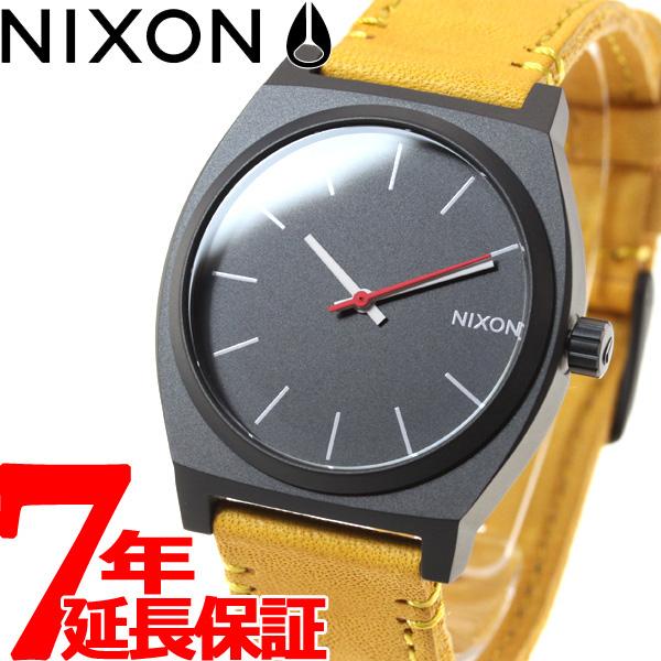 10%OFFクーポン!31日23:59まで! ニクソン NIXON タイムテラー TIME TELLER 腕時計 メンズ/レディース オールブラック/ゴールデンロッド NA0452448-00