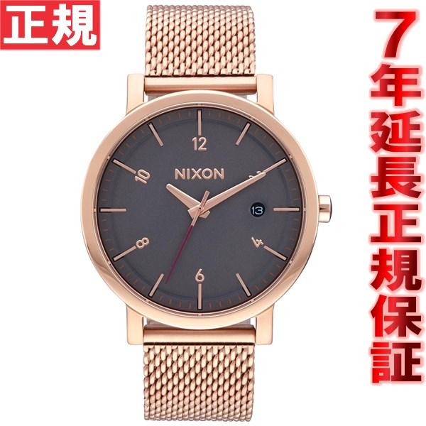 ニクソン NIXON ロロ 38 SS ROLLO 38 SS 腕時計 メンズ オールローズゴールド/チャコール NA10872449-00