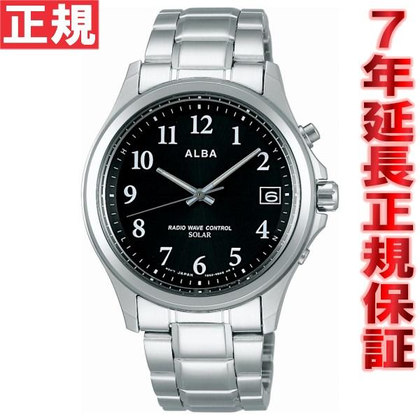 【SHOP OF THE YEAR 2018 受賞】セイコー アルバ ソーラー SEIKO ALBA SOLAR 電波 ソーラー 電波時計 腕時計 メンズ AEFY501