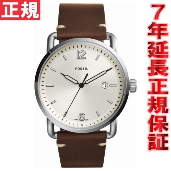 【今だけ!最大2000円OFFクーポン付!&店内ポイント最大47倍!25日23時59分まで】フォッシル FOSSIL 腕時計 メンズ コミューター THE COMMUTER 3H DATE FS5275