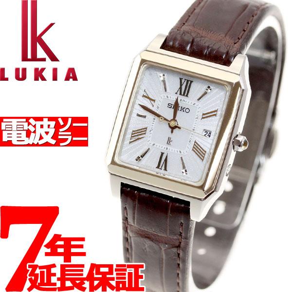 セイコー ルキア SEIKO LUKIA 電波 ソーラー 電波時計 腕時計 レディース SSVW100【36回無金利】