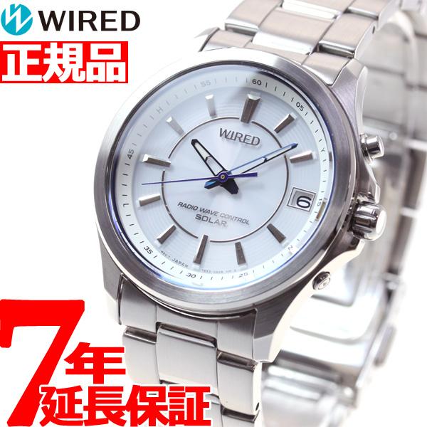 セイコー ワイアード SEIKO WIRED 電波 ソーラー 電波時計 腕時計 メンズ ニュースタンダードモデル AGAY011【正規品】