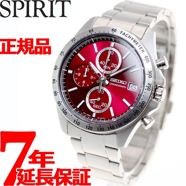 【SHOP OF THE YEAR 2018 受賞】セイコー スピリット SEIKO SPIRIT 腕時計 メンズ クロノグラフ SBTR001【正規品】