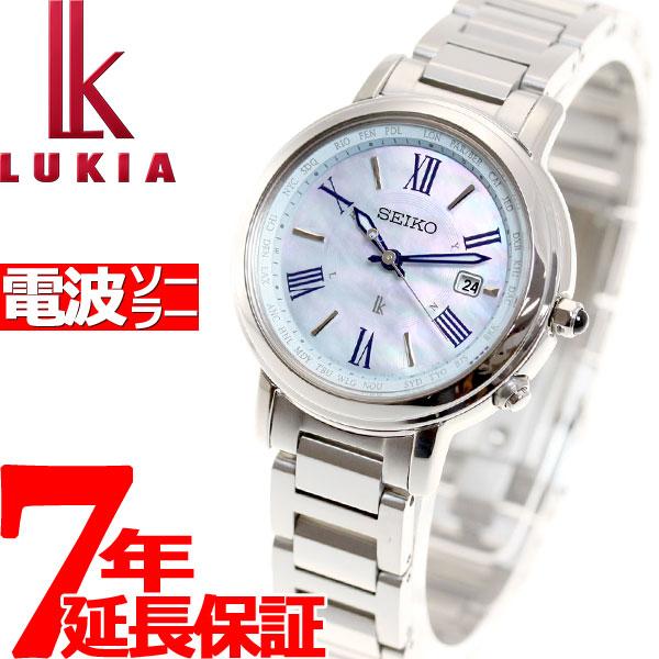 セイコー ルキア SEIKO LUKIA 電波 ソーラー 電波時計 腕時計 レディース ラッキーパスポート LUCKY PASSPORT SSQV027【36回無金利】